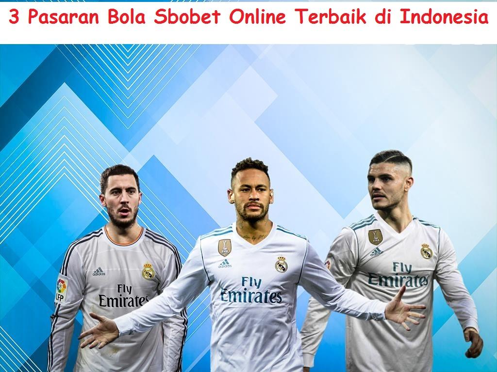 3 Pasaran Bola Sbobet Online Terbaik di Indonesia
